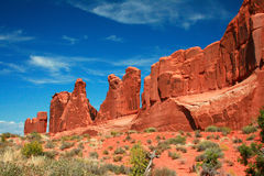 Park Avenue - Arches National Park Royalty Free Stock Image