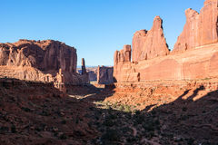 Park Avenue, Arches National Park Royalty Free Stock Images