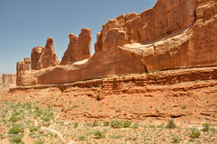 Park Avenue, Arches national park, Utah Royalty Free Stock Photography