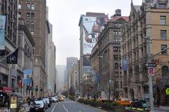 Park Avenue, Manhattan, New York City images libres de droits