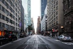 Park Avenue in Midtown Manhattan, New York. Stock Photo