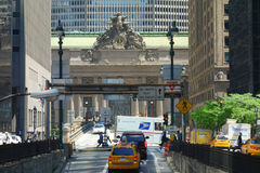 Park Avenue in New York City Stock Photography