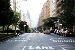 Park Avenue NYC Imagen de archivo libre de regalías