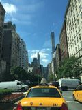 Park Avenue in NYC. Busy Park Ave in midtown, New York City Stock Photos