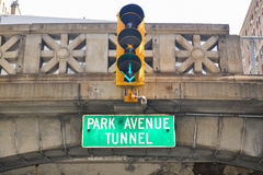 Park Avenue Tunnel, New York Stock Image