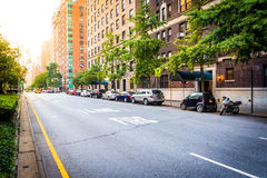 Park Avenue in Upper East Side, Manhattan, New York. Royalty Free Stock Photography