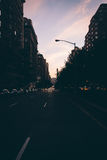 Park Avenue in Upper East Side, Manhattan, New York. Stock Images