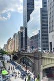 Park Avenue-Viaduct, New York Royalty-vrije Stock Afbeelding