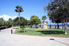 Park in Ayia Napa Cyprus Stock Photos