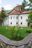 Park Bachkovski monastery stock photo