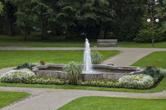 Park in Bad Toelz Stock Image