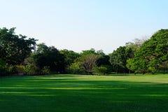 Park in Bangkok, Thailand Lizenzfreie Stockbilder