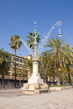 Park in Barcelona Stock Photography