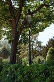 Park in Barcelona stock foto's