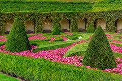 Park in Barokke stijl Stock Foto