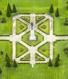 Park in Baton Rouge met het standbeeld van Huey Long Royalty-vrije Stock Foto's