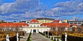 Park belwederu pałac Zdjęcie Royalty Free