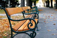 Park bench  Stock Photos