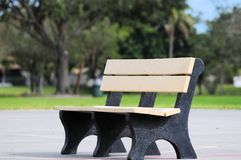 Park Bench royalty free stock images