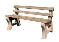 A park bench Stock Photography