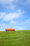 A park bench. Royalty Free Stock Images