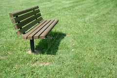 Park Bench Royalty Free Stock Image