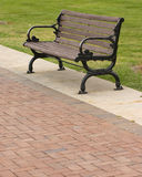 Park bench. Still life royalty free stock images
