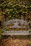 Park bench in Autumn Royalty Free Stock Photography