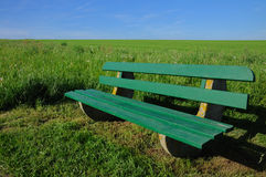 Park-bench bench  nature Royalty Free Stock Image