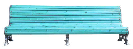 Park bench Stock Image