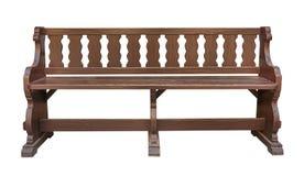 Park bench cutout Stock Image