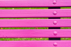 Park bench detail Royalty Free Stock Photography