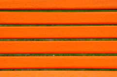 Park bench detail Royalty Free Stock Photo