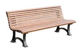 Free Park Bench Isolated On White Stock Photography - 95373992