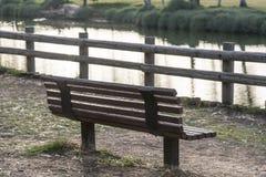 Park bench Stock Photos