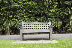 Park bench meadow Royalty Free Stock Image
