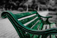 Park Bench, Sitting, Seat, Wooden Stock Photos