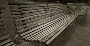 Park Benches Stock Images