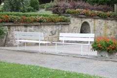 Free Park Benches Stock Image - 31961921