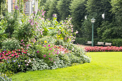Park of Bergen Royalty Free Stock Images