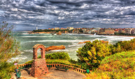 Park in Biarritz - France Royalty Free Stock Image