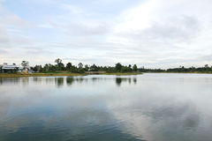 The park of big provinces is famous Stock Photos