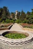 Park bij eiland Rhodos royalty-vrije stock foto's