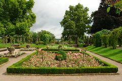 Park bij het slot Royalty-vrije Stock Foto