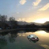 Park boat Stock Photo