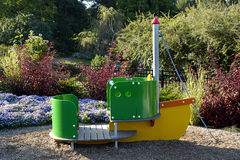 Park Boat Stock Image