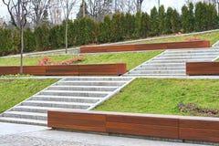 Park in Boekarest Royalty-vrije Stock Afbeeldingen