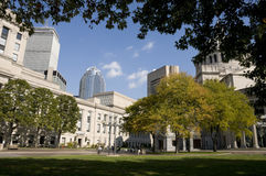 Park in Boston Royalty-vrije Stock Afbeeldingen