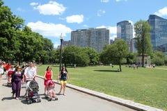 Park in Boston Stock Afbeeldingen