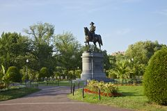 Park in Boston Stock Photography